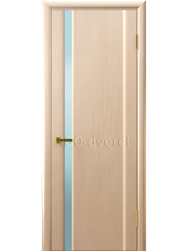 Дверь Синай 1 с белым  стеклом