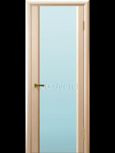 Дверь Синай 3 с белым стеклом
