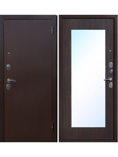 Входная дверь Зеркало Макси-Венге
