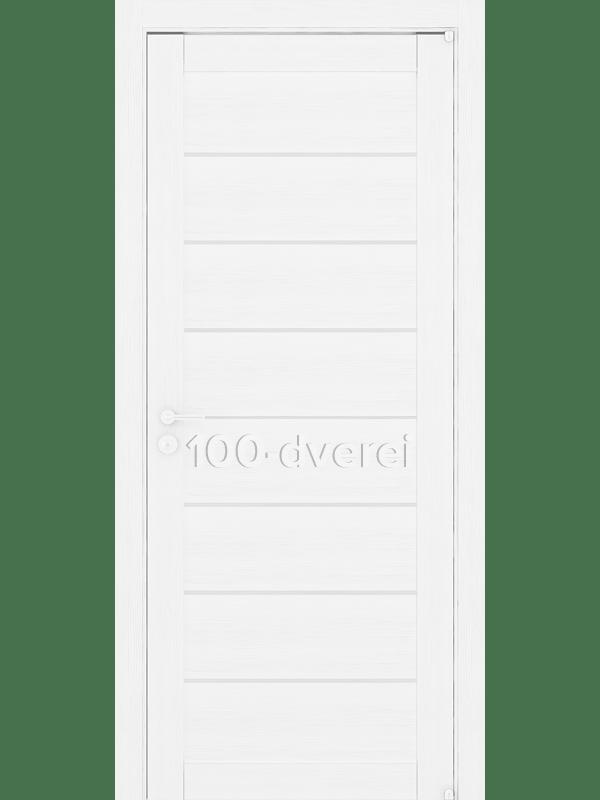 Дверь 2125 Белый Велюр