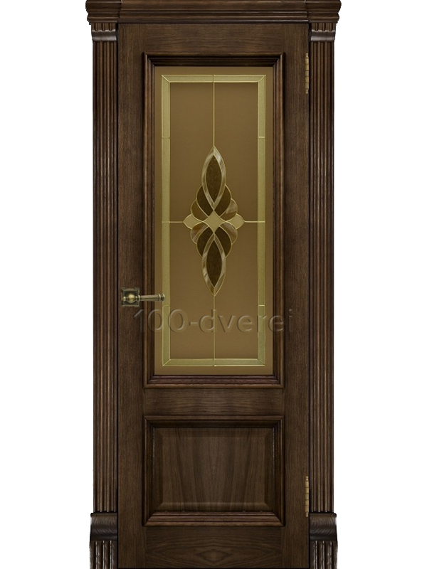 Дверь Корсика Дуб Brandy ДО