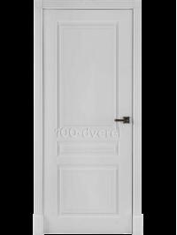 Дверь Турин Белая эмаль