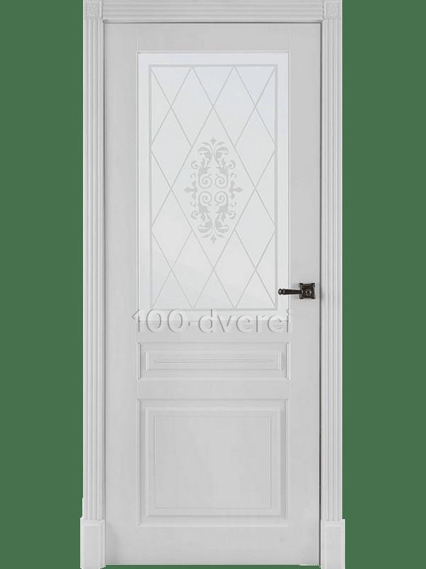 Дверь Турин ДО Белая эмаль