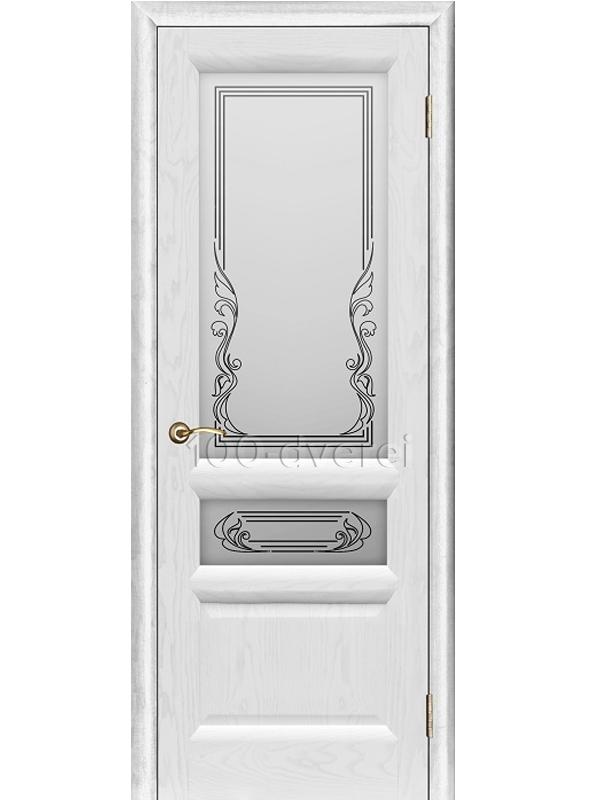 Дверь Валенсия-2 ДО Жемчужный ясень
