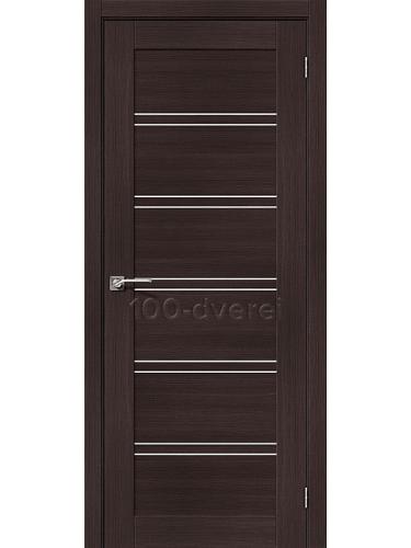 Дверь ЭкоШпон-28 Венге Вералинга