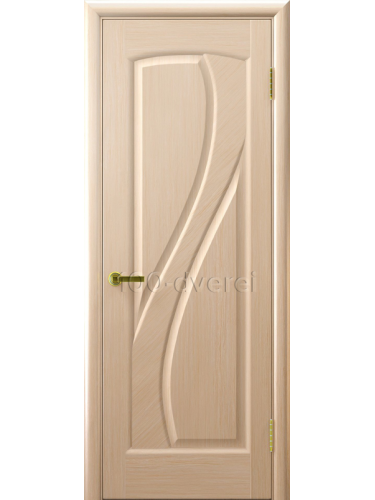Дверь Мария глухая беленый дуб