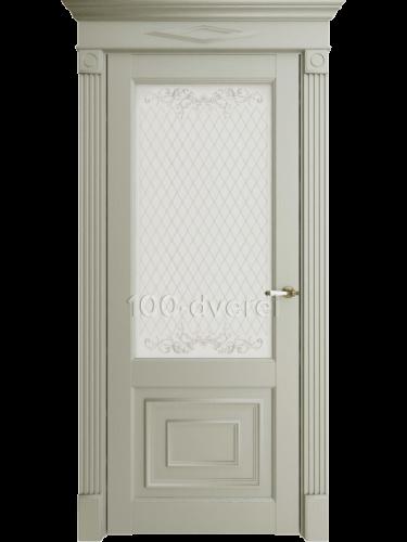 Межкомнатная дверь 62002 ДО Светло-серая серена