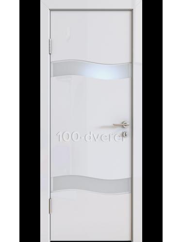 Дверь 503 Белый Стекло белое