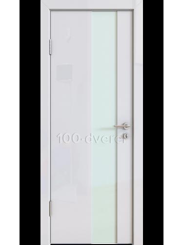 Дверь 504 Белый Стекло белое