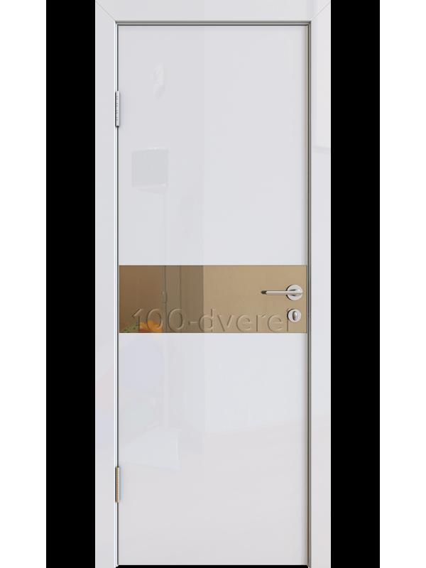 Дверь 509 Белый глянец