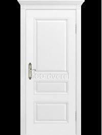 Дверь Трио ДГ Белая эмаль