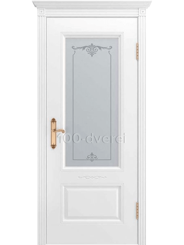 Дверь Аккорд ДО Белая эмаль