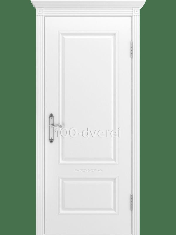 Дверь Аккорд ДГ Белая эмаль