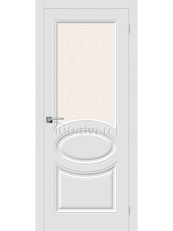 Дверь Скинни 21 ДО Белый