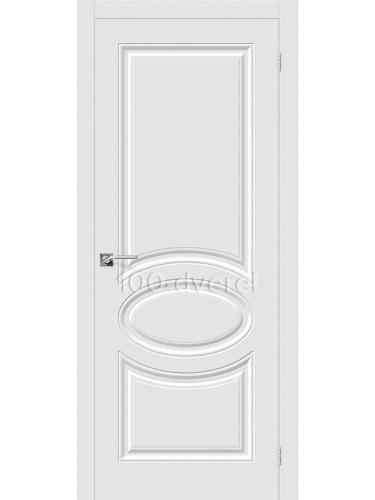 Дверь Скинни 20 ДГ Белый