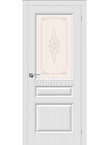 Дверь Скинни 15 ДО Белый