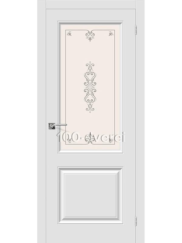 Дверь Скинни 13 Белый