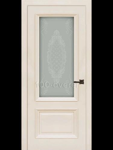 Межкомнатная дверь Неаполь 1 RAL 9001