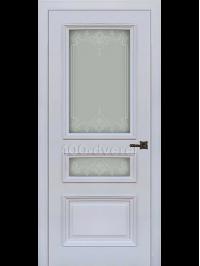 Межкомнатная дверь Неаполь 2 RAL 7047