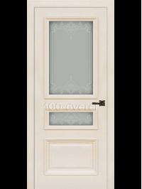 Межкомнатная дверь Неаполь 2 RAL 9001