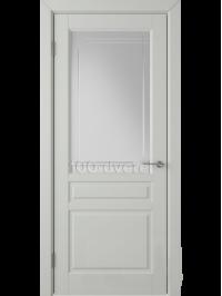 Дверь Стокгольм ДО Светло-серая эмаль