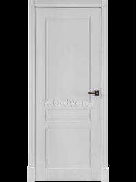 Дверь Прага ДГ Белая эмаль