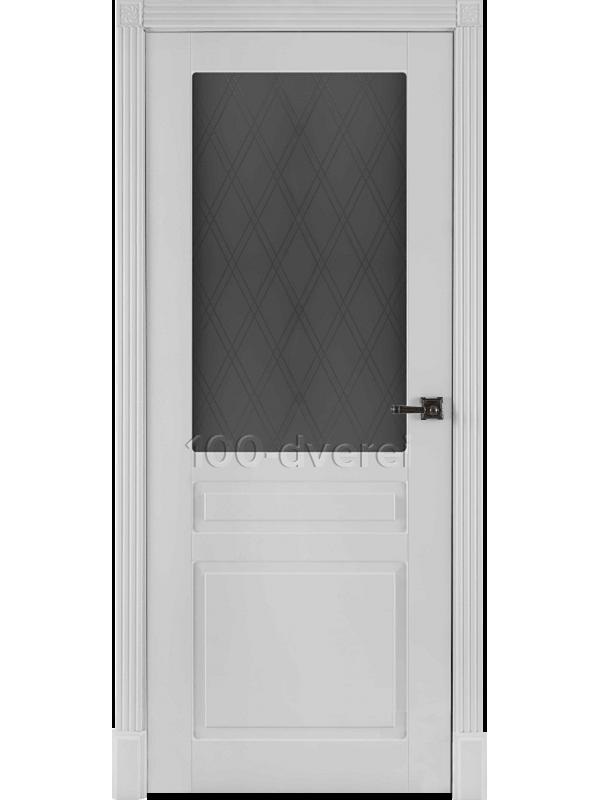 Дверь Прага ДО Белая эмаль