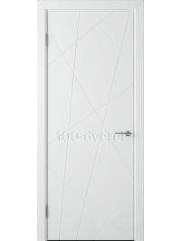 Дверь Флитта ДГ Белая эмаль