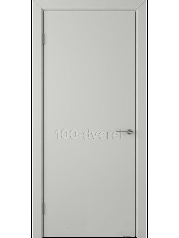Дверь Ньюта ДГ Светло-серая эмаль