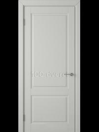 Дверь Доррен ДГ Светло-серая эмаль