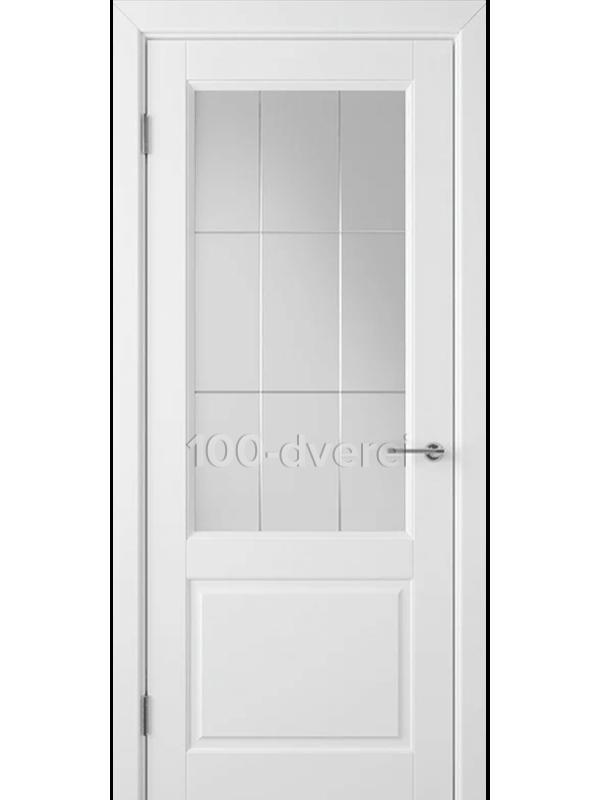Дверь Доррен ДО Белая эмаль