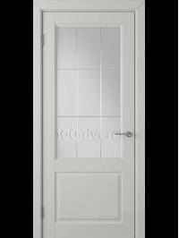 Дверь Доррен ДО Светло-серая эмаль