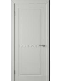Дверь Гланта ДГ Светло-серая эмаль