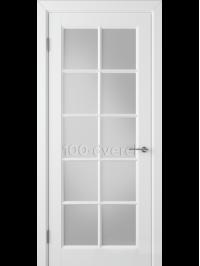 Дверь Гланта ДО Белая эмаль