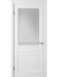Дверь Стокгольм ДО Белая эмаль