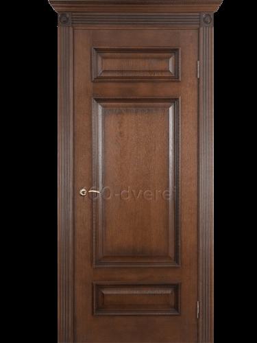 Дверь Рим ДГ Коньяк красный