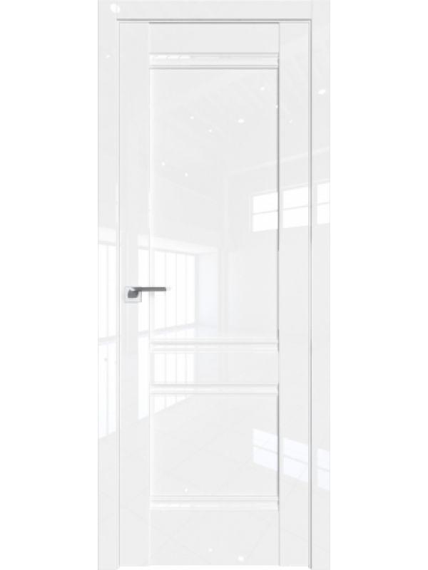 Дверь 1 L Белый Люкс