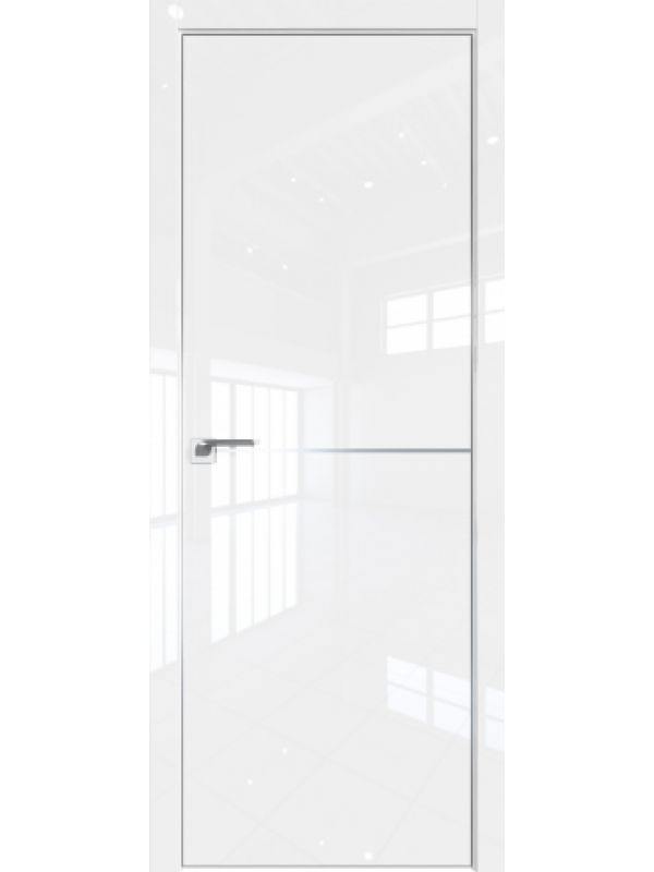 Межкомнатная дверь 12 LK Белый Люкс