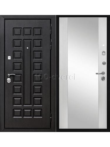 Дверь МД 30 Сенатор с зеркалом