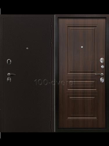 Дверь Входная Троя 3К Орех бренди