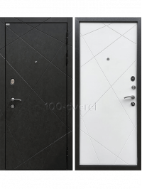 Дверь Входная Эстет 3К Силк Сноу