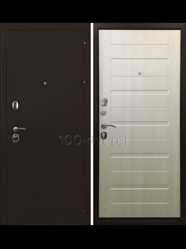 Дверь Входная Тренд 3К Лиственница беж