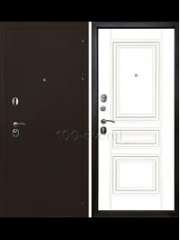 Дверь Входная Троя 3К Матовый белый