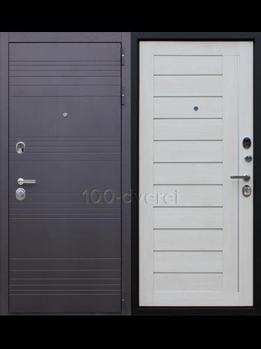 """Входная дверь Дуэт """"Белая лиственница"""""""