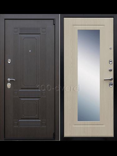 Входная дверь Викинг Зеркало