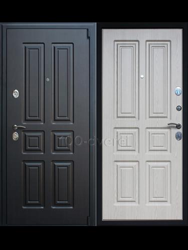 """Входная дверь Атлант """"Беленый дуб"""""""
